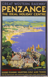 'Penzance', GWR poster, 1923-1947.