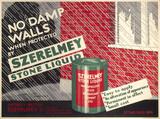 Szerelmey Stone Liquid, poster, 1934.