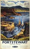 BR(LMR) poster. 'Portstewart - Northern Ire