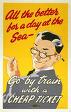 'All the Better for A Day at the Sea', BR poster, 1948-1965.