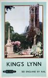 'King's Lynn', BR poster, 1948-1965.