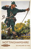 'Nottinghamshire', BR poster, 1948-1951.