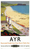 'Ayr', BR poster, 1948-1965.