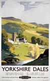 'Yorkshire Dales', BR (NER) poster, 1953.
