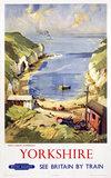 'Yorkshire', BR (ER) poster, 1948-1965.