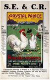 SECR poster, 1921.