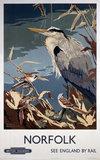 'Norfolk', BR poster, 1948-1965.