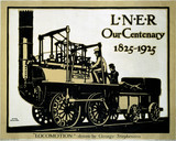 'Our Centenary, 1825-1925', LNER poster, 1925.