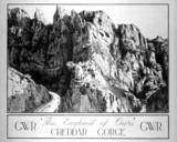 'Cheddar Gorge' GWR poster, 1923-1947.