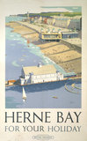 'Herne Bay for your Holiday', BR (SR) poster, 1948.