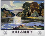 'Killarney', GWR poster, 1938.