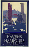 'Havens and Harbours', LNER poster, 1931.