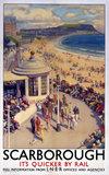 'Scarborough', LNER poster, 1923-1947.