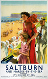 'Saltburn', LNER poster, 1923-1947.