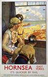 'Hornsea', LNER poster, 1936-1946.