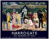 'Harrogate', LNER poster, 1934.