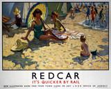 'Redcar', LNER poster, 1934-1935.