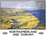 'Northumberland and Durham', LNER poster, 1923-1947.