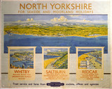 'North Yorkshire', BR (NER) poster, 1948-1965.