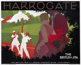 'Harrogate', LNER poster, c1930.