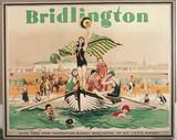 LNER poster. Bridlington by Barribal. Print