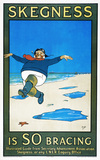 'Skegness is SO Bracing', LNER poster, 1926.