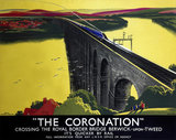 'The Coronation', LNER poster, 1923-1947.