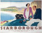 Scarborough, North Yorkshire, LNER poster, 1923-1947.