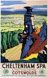 'Cheltenham Spa', GWR/LMS poster, 1923-1947.