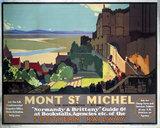 'Mont St Michel', SR poster, 1932.