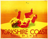 'Yorkshire Coast', LNER poster, 1923-1947.