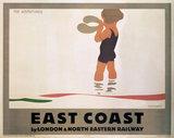 'East Coast', LNER poster, 1923-1947.