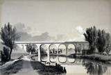 Colne Viaduct, Watford, Hertfordshire, 5 June 1837.