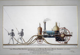 Steam fire engine, 1840.