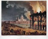 'Fire in London', 1791.