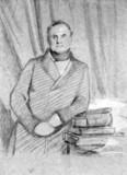 Charles Babbage, British mathematician and computing pioneer, 1845.