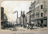 Victoria Station, Manchester, 1848.