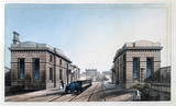 Edge Hill Station, Liverpool, 1836.