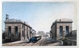 Edge Hill Station, Liverpool, 1836.