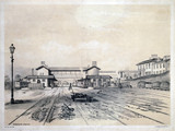 Normanton Station, West Yorkshire, 1845.
