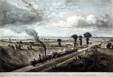 The opening of the Canterbury & Whitstable Railway, Kent, 3 May 1830.
