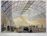 'Charing Cross Railway Station', London, c 1863.