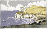 Freshwater Bay, Isle of Wight, c 1930s.