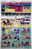 Various means of transport in Japan, 1854-1889.