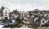 Newton-le-Willows Railway Station, Merseyside, 1833.