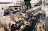 'SS Invicta' at Calais, France, c 1952.