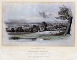 'View from back of Greenwich Road', London, 1836.