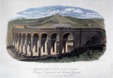 'Brighton Viaduct on the Hastings Branch', East Susex, c 1848