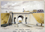 'The New England Viaduct on the London & Brighton Railway', 1857.