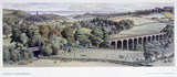Alnmouth, Northumberland, BR (NER) carriage print, 1948-1965.